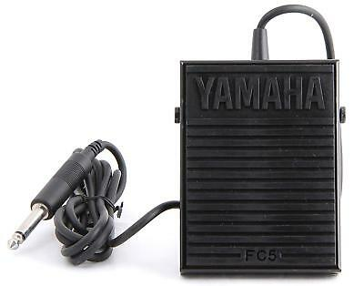 Yamaha Japan Foot Switch FC5 Sustain Pedal for Portable Electronic Keyboards
