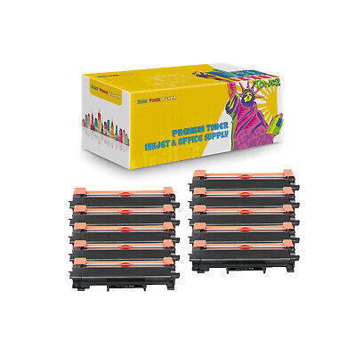 10X TN730 Compatible Toner No Chip for Brother DCP-L2550DW HL-L2350DW