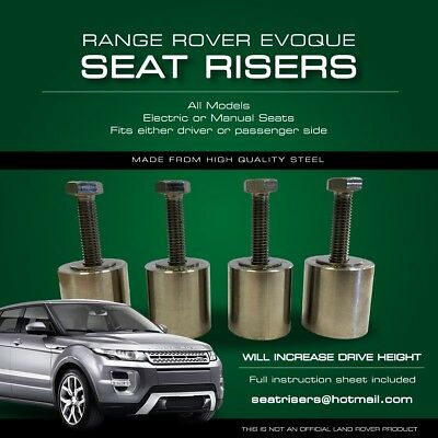 Range Rover Evoque Seat Risers 2011-2020 ALL MODELS