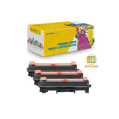 3PK Compatible TN730 Toner With Chip for Brother DCP-L2550DW HL-L2350DW