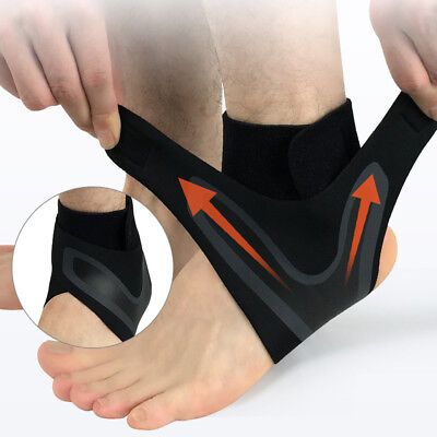 Ankle Support Strap Adjustable Brace Neoprene Pain Relif Sports Protect Injury
