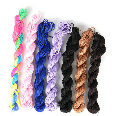 1mm*20m Nylon Cord Thread Braid String Thread String For Chinese Knot Bracelet..