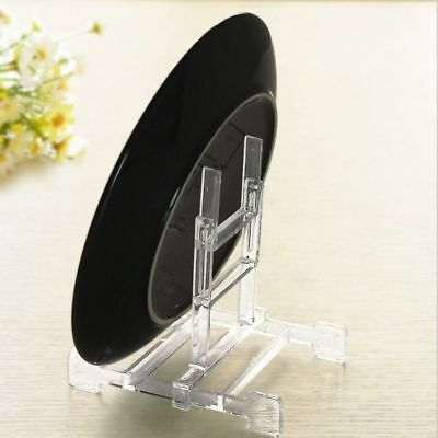 Plate Display Stands 10 Plastic Picture Easel Stand Holder Photo