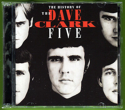The Dave Clark Five THE HISTORY OF DC5 2CD set Jewel Case w/32-pg booklet MINT!