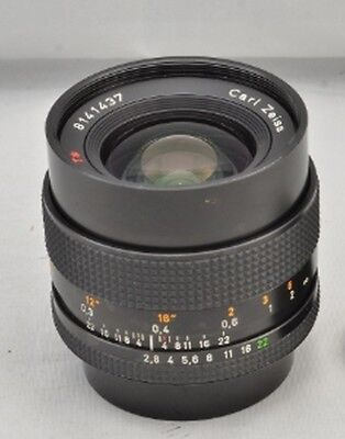 Contax Carl Zeiss T* Distagon 28mm f/2.8 MMJ Wide Angle Camera Lens