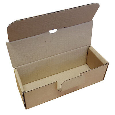 Small Parcel Brown Die Cut Postal Box Shipping Boxes for 500ml 1000ml 1L Bottles