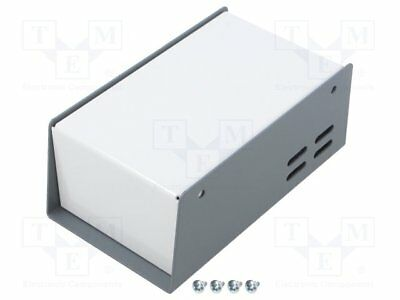 Enclosure: desktop; 512; X:76mm; Y:133mm; Z:51mm; steel; dark grey [1 pcs]
