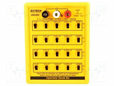 Decade box: capacitance; 100p÷11111uF; Number of ranges:5; 5% [1 pcs]