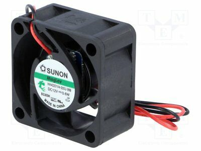 Fan: DC; axial; 12VDC; 40x40x20mm; 9.3m3/h; 12.8dBA; Vapo; 2.03mmH2O [1 pcs]