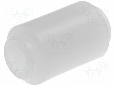 Spacer sleeve; cylindrical; polyamide; L:10mm; Øout:7.5mm [10 pcs]