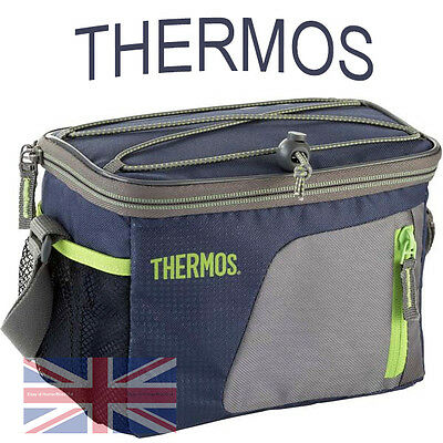 Thermos Food / Drink Cooler Lunch Bag Pack Up Keep Sandwich Cool & Fresh  Box 6