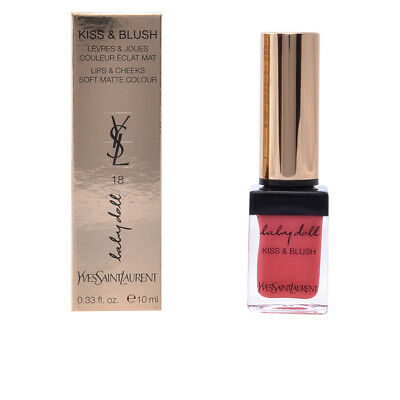 Labios Yves Saint Laurent mujer BABY DOLL KISS&BLUSH #18-rose provocant 10 ml