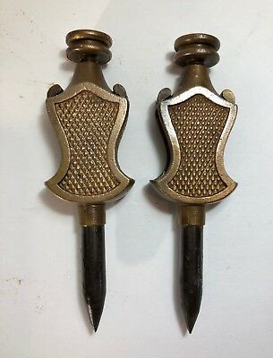 Pair of Brass Stanley Tools Trammel Points