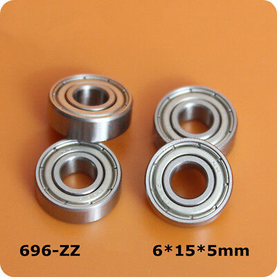 1Pcs Motor Class NH Miniature Bearings 696ZZ 619/6 696-2Z 6*15*5mm High Quality