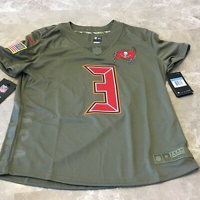Hot JAMEIS WINSTON TAMPA Bay Buccaneers Nike SALUTE TO SERVICE Womens  for sale