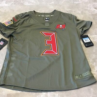 JAMEIS WINSTON TAMPA Bay Buccaneers Nike SALUTE TO SERVICE Womens  supplier