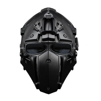 WST Tactical Helmet Mask Goggle Outdoor Airsoft Paintball Cycling