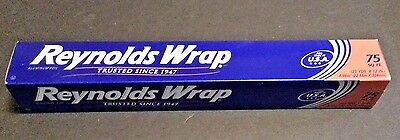 Reynolds Wrap Aluminum Foil (75 Square Foot Roll) Foil Made In U.S.A. New!!!