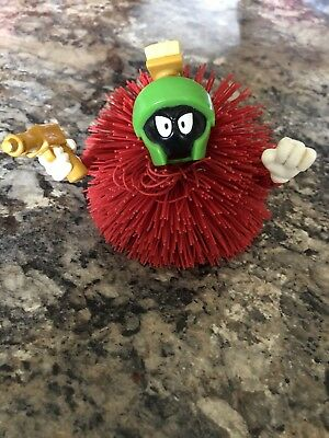 Marvin the Martian Koosh Ball Looney Tunes EUC Collector Space Hard To Find