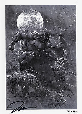 JIM LEE:IKONEN HC deutsch SKETCH/ART-BOOK limited + signed Artprint ICONS Batman