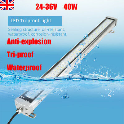 CNC Machine LED Lamp Linear Light Waterproof Tri-proof Working Lamp 24-36V 40W