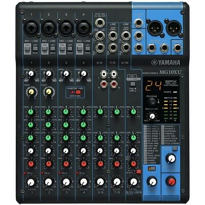 Yamaha MG10XU Audio Mixer w/ Effects & USB Audio