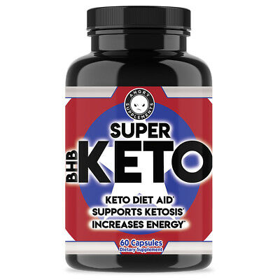 Keto BHB Pills, Ketogenic Diet Aid, Ketosis Weight Loss by Angry Supplements