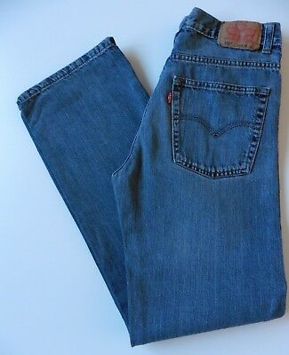 Men's Boys' Levis 550 Relaxed Fit Jeans W27 L30 Blue 18 Years Levi Strauss