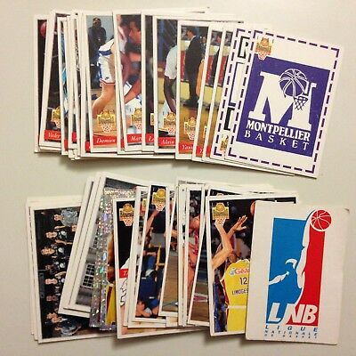 Lot 52 Cartes De Basket Lnb 1995