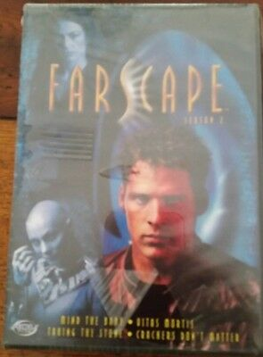 """New Farscape Season 2 Sci Fi Set of 2 DVDs """"Mind The Baby &Taking The Stone"""""""