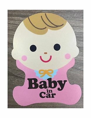 Brightt Set of x2 Baby On Board Safety Vinyl Sticker Decal Sign For All Cars/...