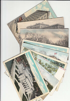 Lot of 10 Vintage Era Postcards Lowell MASS Massachusetts Middlesex County MA +