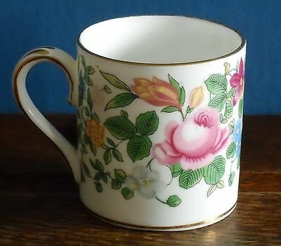 Vintage Crown Staffordshire Bone china Demise coffee cup 6116 R,N, 622733