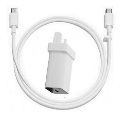 Genuine Official Google Pixel Mains Charger/usb-C To Type C  Data Sync Cable