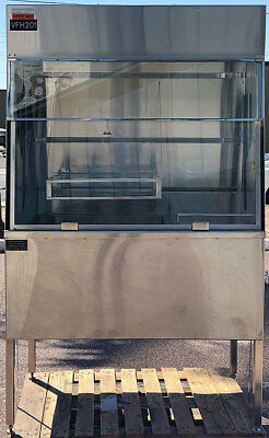 Matrix Industries I98 BD/H-ASSY-2 4 ft. Stainless Steel Chemical/Acid Fume Hood