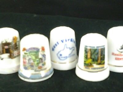 Sewing Thimbles-Set of 5 Assorted Thimbles