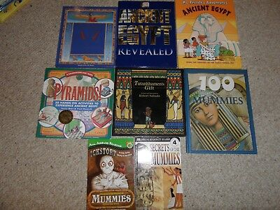 Ancient Egypt Mummies Pyramids Hieroglyphs Hands-On Activities Books