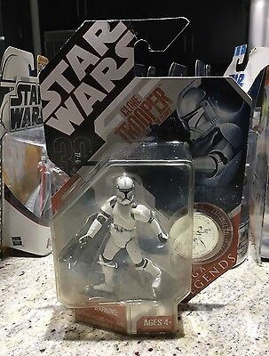 Star Wars Attack Of The Clones Clone Trooper Saga Legends