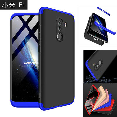 For Xiaomi Pocophone F1 Shockproof 360° Full Protection Hard Case Cover Shell