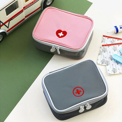 Mini Travel Medicine Storage Bag Portable Outdoor First Aid Kit Home Emergency