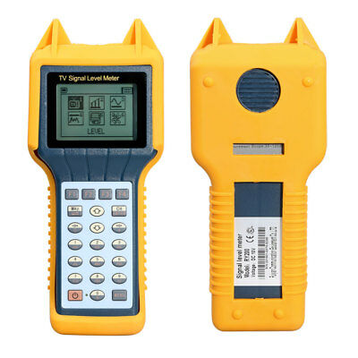 RY200 RY-200 CATV Digital Cable TV Signal Level Meter DB Best Tester Scanner