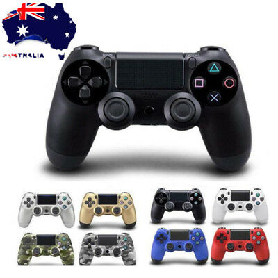Muticolor LED Dual Shock wired Gamepad Controller for PS4 Gamepad