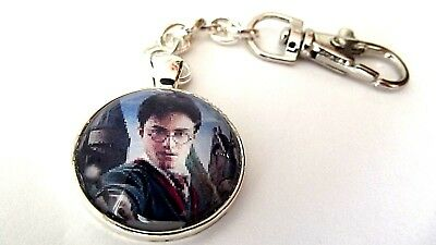 Harry Potter Photo Key Ring Strong Chain Silver Plated Gift Boxed Party Birthday
