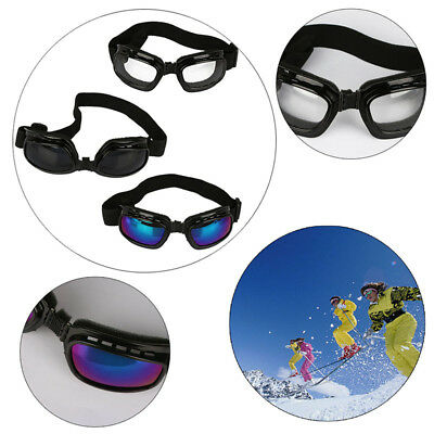 Cool Anti-Fog Padded Motorcycle Sunglasses Biker Safety Glasses Goggles Mirror