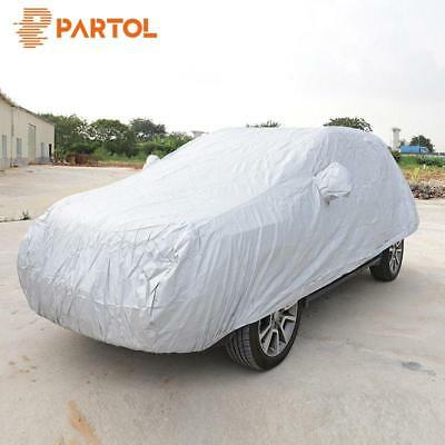 Universal Full Car Cover Sun UV Snow Outdoor Waterproof Dust Resistant Protects