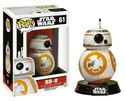 Funko Star Wars POP Movies Vinile Figura BB-8 10 cm
