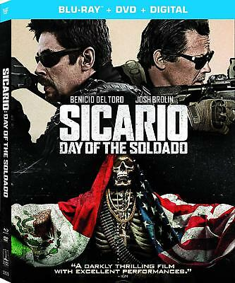 SICARIO - DAY OF THE SOLDADO  - BLU RAY - Sealed Region free