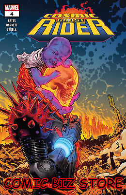 Cosmic Ghost Rider #4 (2018) 1St Print Main Cover Bagged & Boarded Marvel Comics