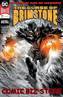 Curse Of Brimstone #7 (2018) 1St Printing Dark Knight Metal Foil Cover Universe