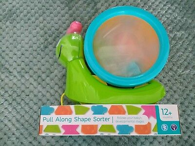 Pull Along Shape Sorter From M & S 12 Months+ Brand New Sealed